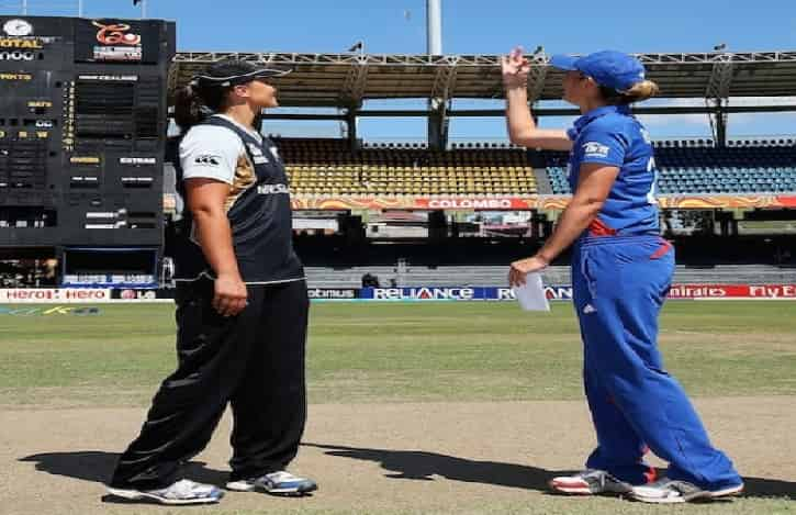 England Women vs New Zealand Women ICC Championship match
