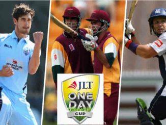 Australia Domestic One-Day Cup Match Prediction